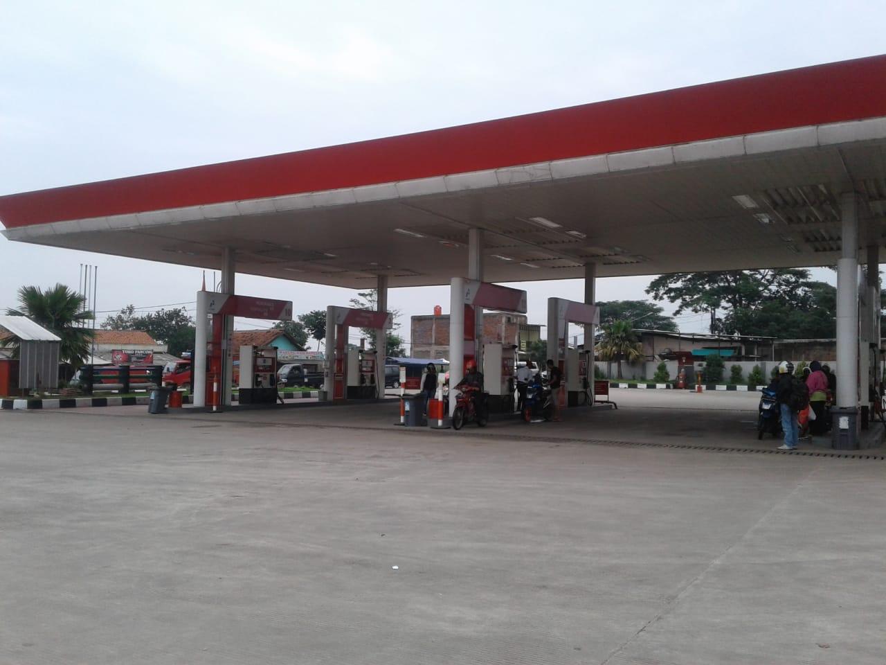 Kabupaten Bandung Diterjang  Banjir, Beberapa SPBU Tidak Bisa Beroperasi