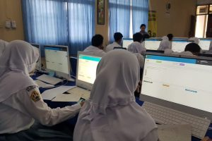 Pertamina Berikan 60 Unit Komputer, Siswa SMA 1 Tasikmlaya Siap Ikuti UNBK