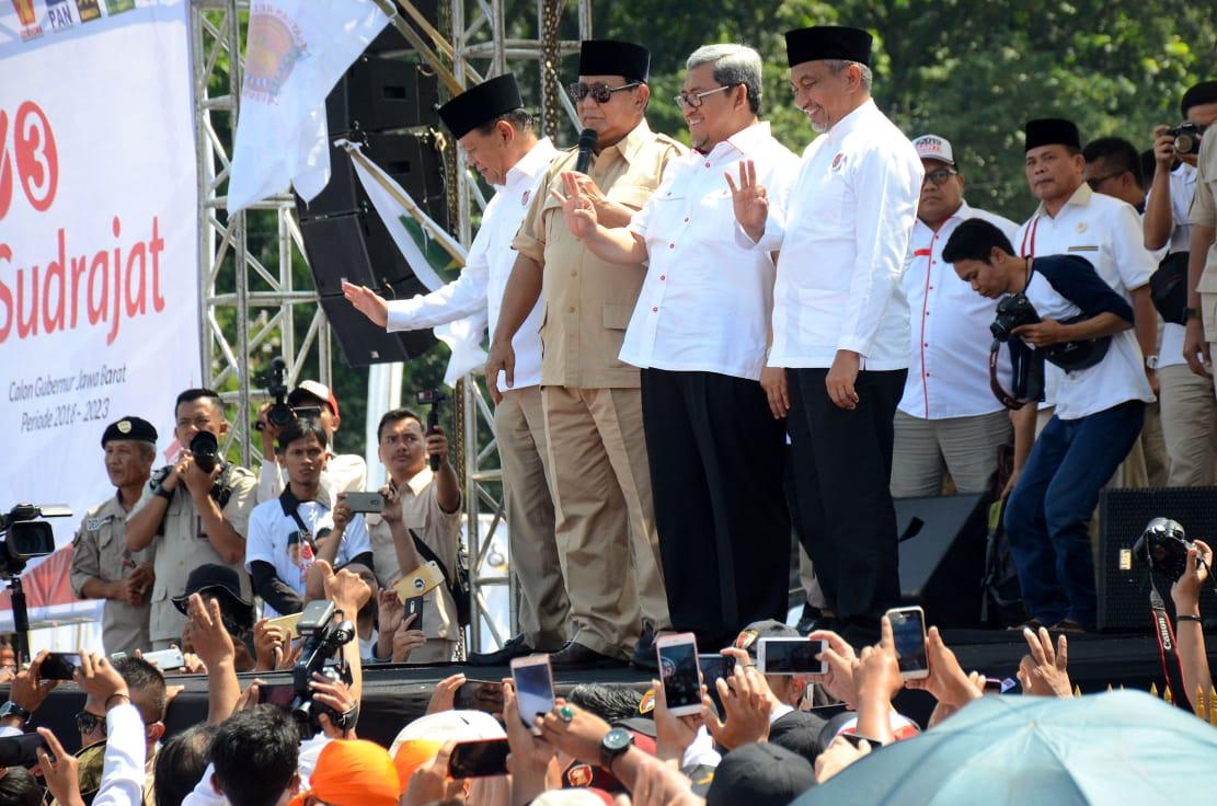 Prabowo Sindir Media, Lu Tunggu Gw Salah Ngomong ya?
