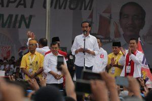 Jokowi Optimis Jabar Mampu Peroleh Suara diatas 60%