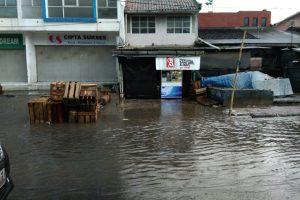 Sungai Meluap, Kawasan Karasak Banjir Lagi