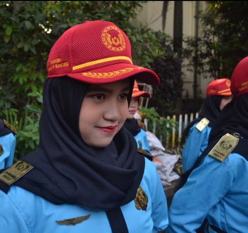 Cerita Anggota Paskibraka di Bandung soal Upacara Virtual