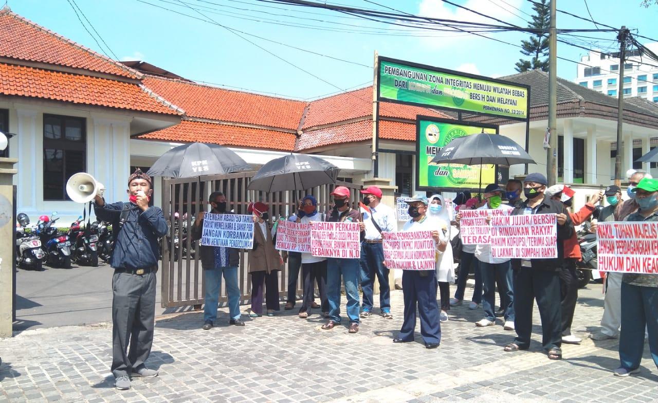Sengketa Tanah Warga Kelurahan Garuda Bandung, Warga Pilih Banding