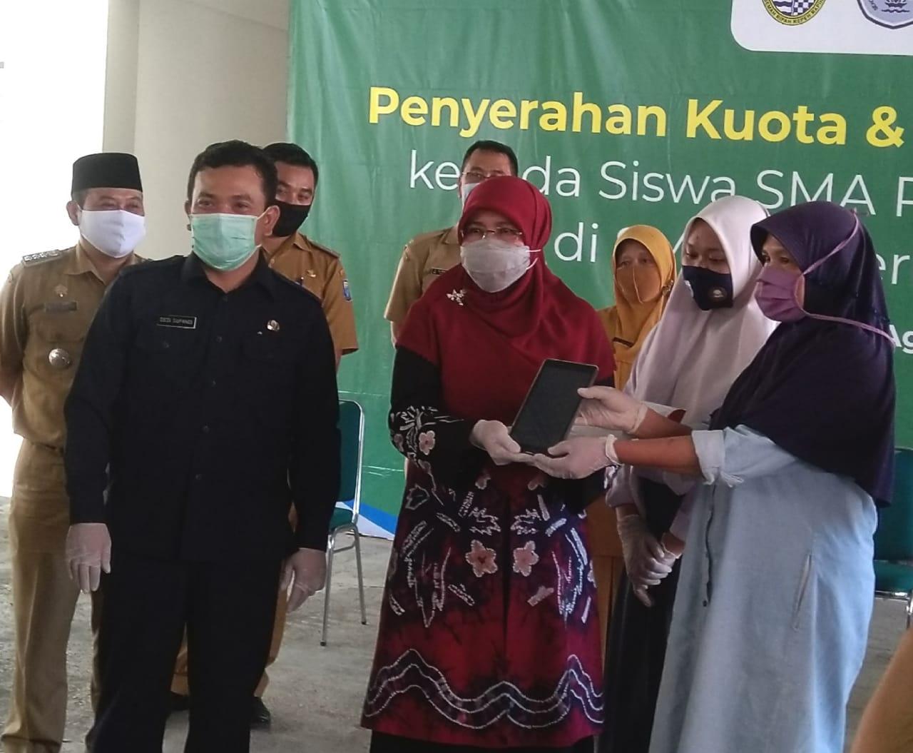 Kuota Gratis Rp150.000 untuk Siswa SMA Tidak Mampu di Jabar