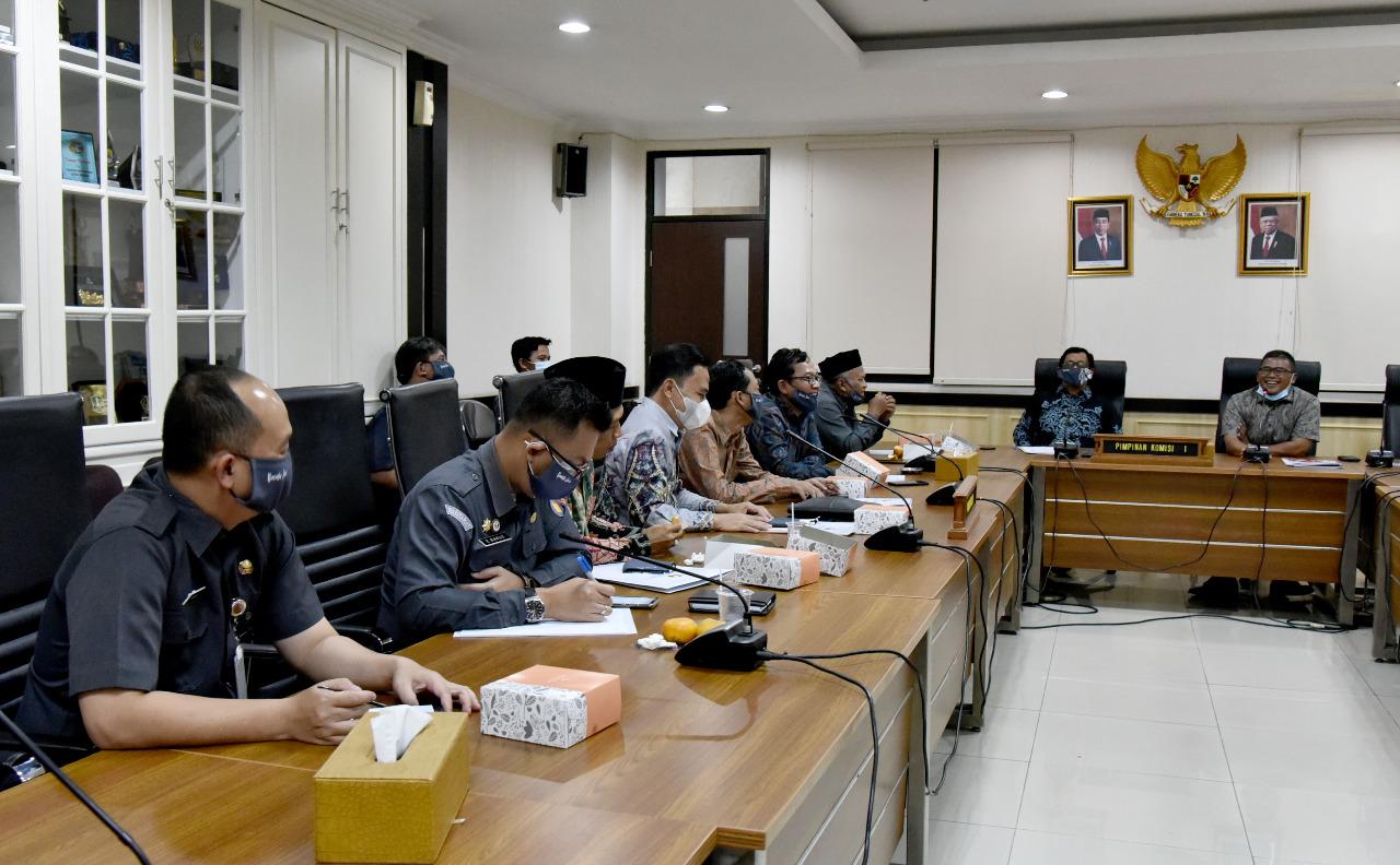 Jelang Pemungutan Suara, Komisi I DPRD Jabar  Dorong Pengawasan Protokol Kesehatan