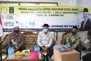 Reses di Kab Bogor, Achmad Ru'yat Berjanji Segera Tindaklanjuti Pencemaran Lingkungan