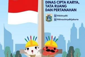 Dinas Cipta Karya, Tata Ruang dan Pertanahan DKI Jakarta Buka Lowongan