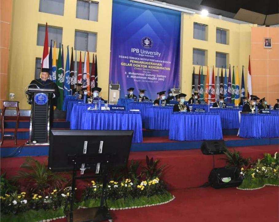 IPB Jadi Universitas Terbaik Peringkat 62 Dunia Versi Quacquarelli Symonds