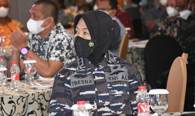 Sosok Inspiratif Kartini Masa Kini, Danlanal Bandung Tresna Kusumawati Dipuji  Susi Pudjiastuti
