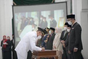 Pesan Kang Emil untuk Bupati dan Wakil Bupati Bandung, Tasikmalaya. Cepat Kerja!