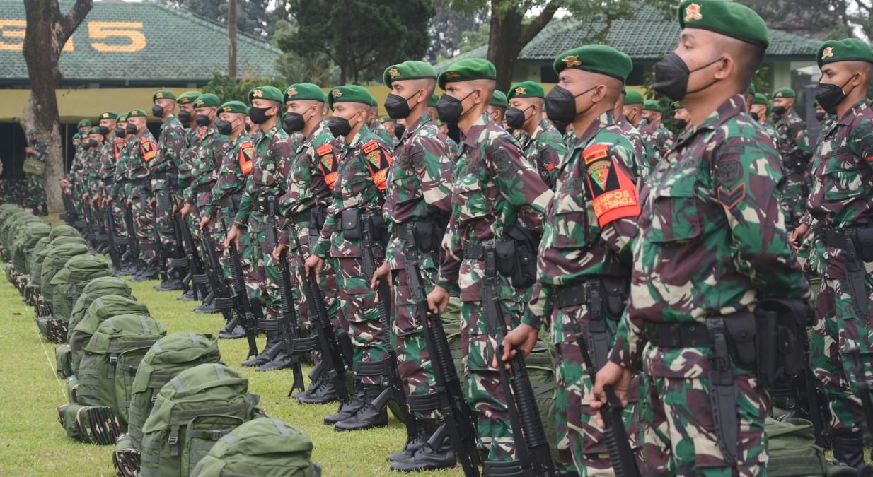 Eskalasi Konflik di Papua karena KBB, Yonif 315 Garuda Dikirim ke Papua