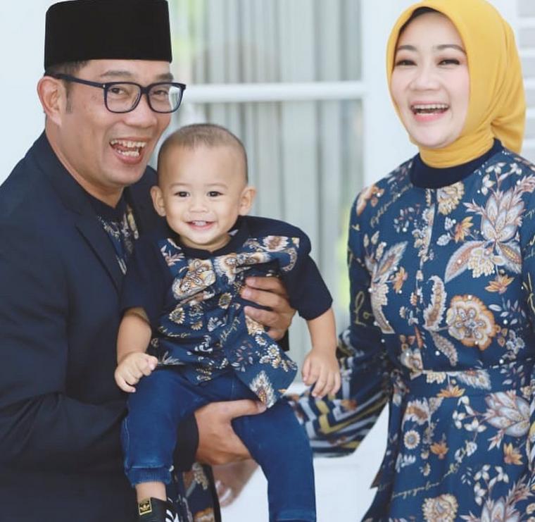 Ridwan Kamil Cerita Hobi Barunya Mendesain Motif Batik