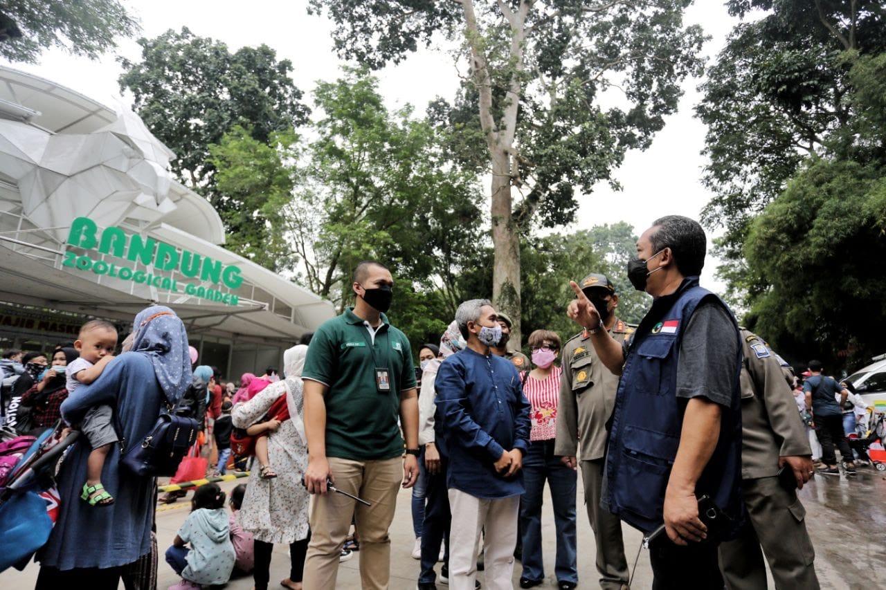 Libur Lebaran, Pemkot Bandung Masif Lakukan Rapid Test Antigen Secara Acak Di Berbagai Tempat Wisata