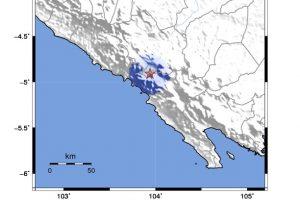 Breaking News. Gempa Bumi 3,5 Magnitudo Mengguncang Lampung Barat dan Lampung