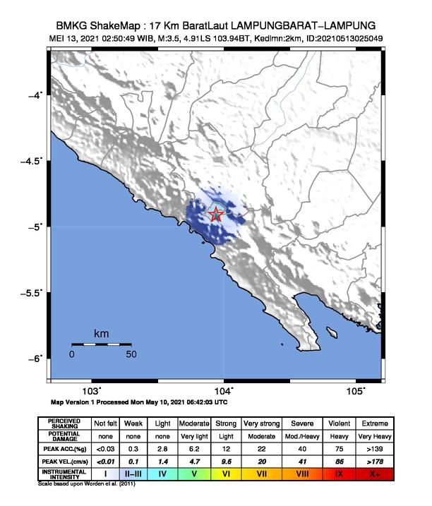Penjelasan BMKG terkait Rentetan Gempa yang Terjadi di Pulau Jawa